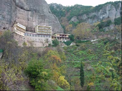 View of the monastery complex